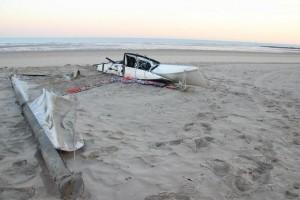catamatan op strand 2